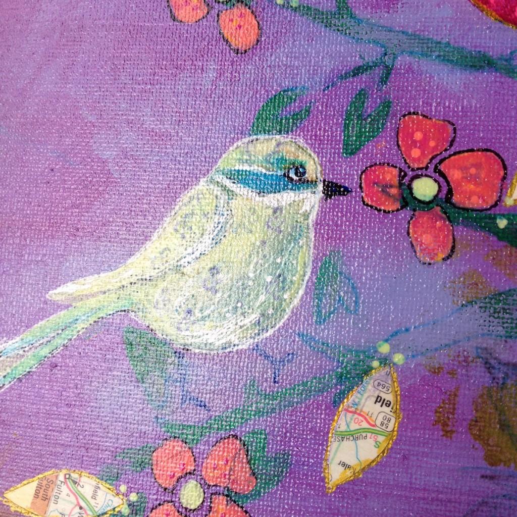 Birds of Paradise_detail 2_Mika Harmony