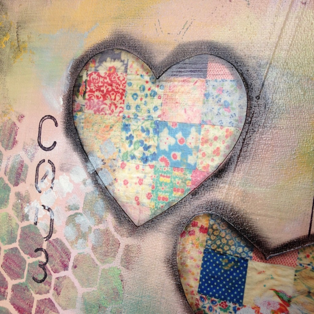 Patchwork of Love_detail_by Mika Harmony
