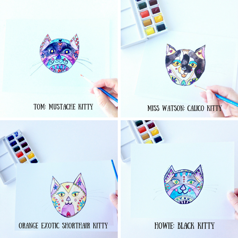 Kitty Art Prints