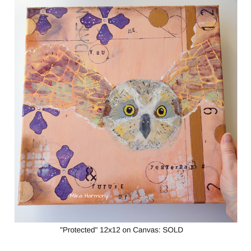 owl-mixed-media-art-by-mika-harmony