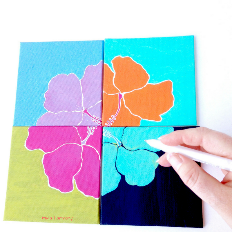hawaiian-aloha-hibiscus-art-mini-canvas-by-mika-harmony