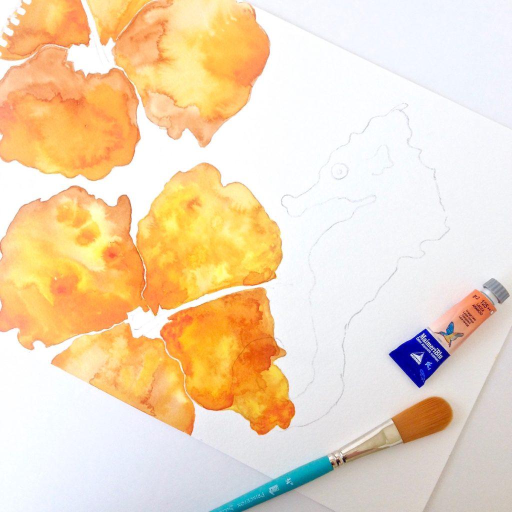 hibiscus-watercolor-painting_hawaiian-artwork-by-mika-harmony