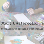 How to Start A Watercolor Painting