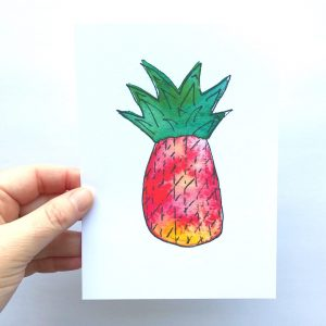 Passion for Pineapple Art