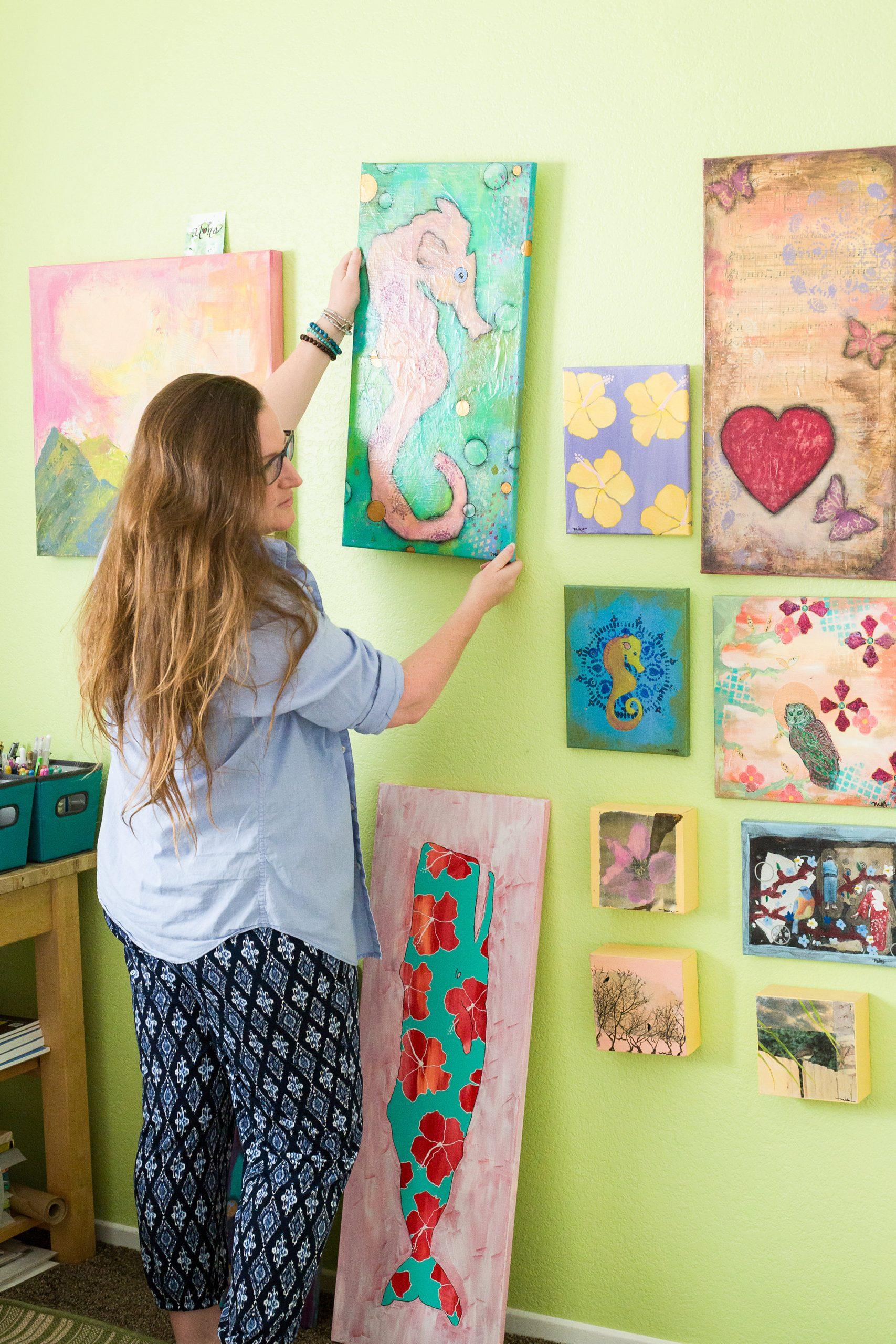 Tools of the Trade: Aloha Art Studio of Mika Harmony