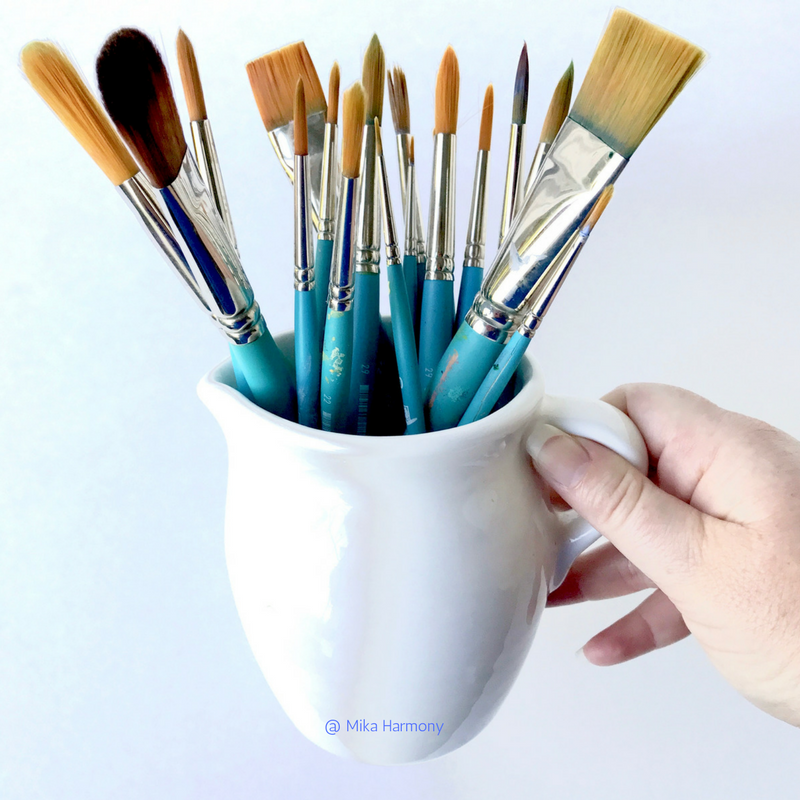 mugshot-monday-collection-of-princeton-brush-supply-watercolor-brushes-by-artist-mika-harmony